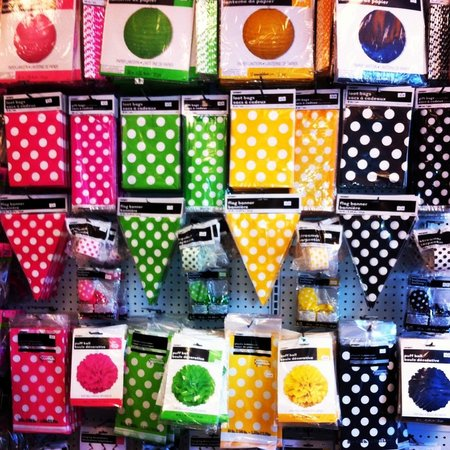 Amy's Party Source: Polka Dot party supplies