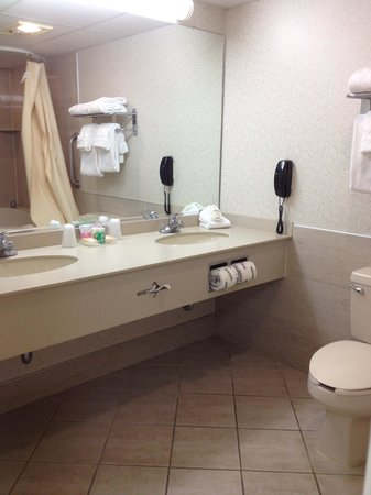 Holiday Inn Hotel & Suites Ocean City: Double sink vanity