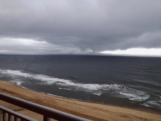 Holiday Inn Hotel & Suites Ocean City: Storm clouds rolling in