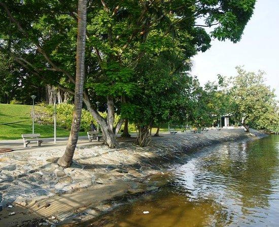 Sembawang Park: None too clean water