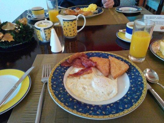 Pousada de Mong-Ha : Breakfast