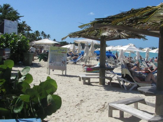 Halcyon Cove by Rex Resorts : Looking left on the beach