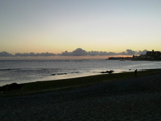 Absolutte Hotel : Anoitecer na praia pituba.