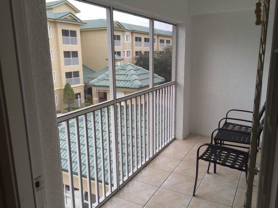 Silver Lake Resort: Screened in balcony
