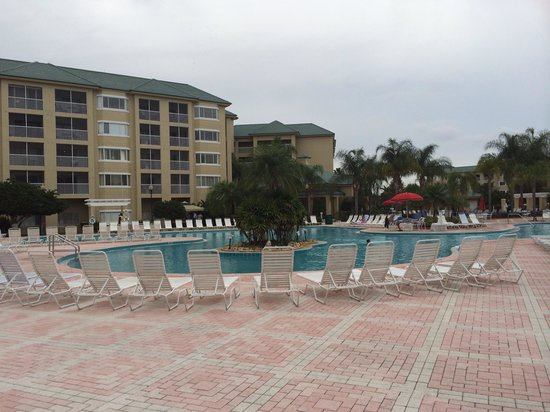 Silver Lake Resort: Made pool. Huge!
