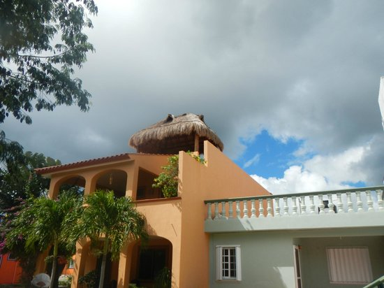 Sandos Caracol Eco Resort : nice clouds!