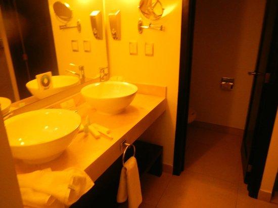 Sandos Caracol Eco Resort : Bathroom (separate shower, separate toilet)