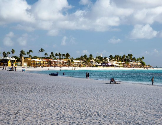 The tamarijn resort as seen from divi aruba picture of - Divi tamarijn aruba ...