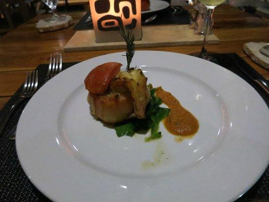 Kura Design Villas Uvita: dinner