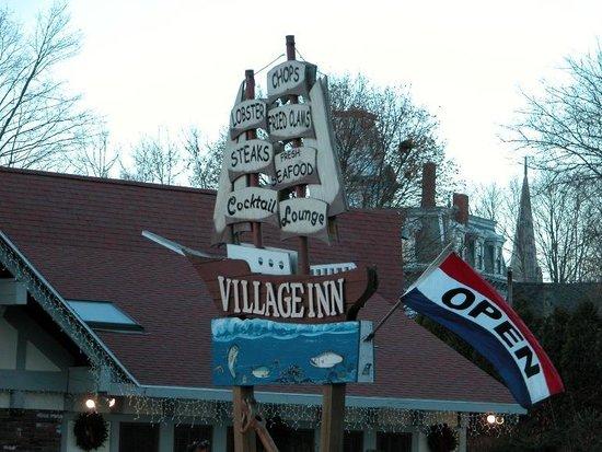 The Village Inn has a nautical theme