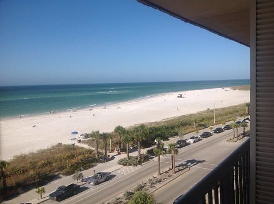 Holiday Inn Sarasota - Lido Beach: Udsigten fra værelset på 6. etage