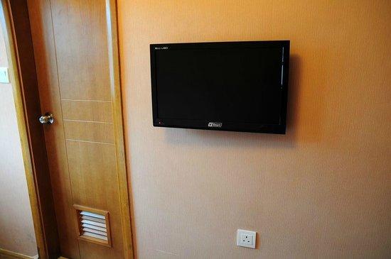 Ole London Hotel: 備え付けのテレビ