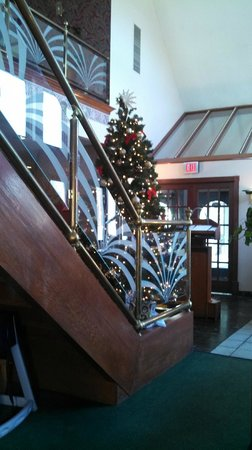 Cheoy Lee's II: Christmas tree on stairway landing