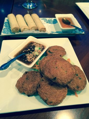 Khao Tip: Spring Rolls and Tod Mun (Thai Fish Cakes)