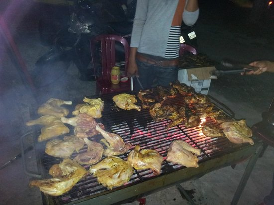 Les Rougets: bbq