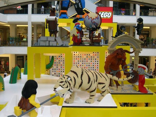 Mall of America: Lego Store display