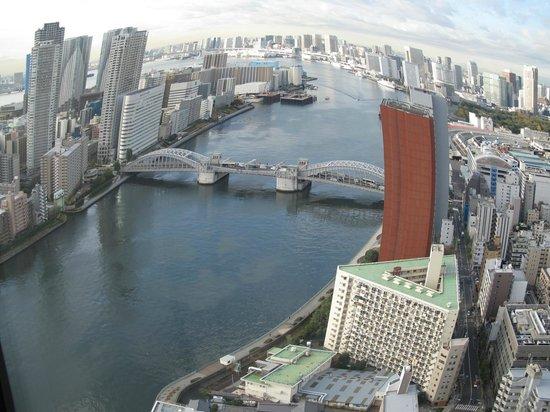 Ginza Creston Hotel : Fantastic view from Ginza Creston