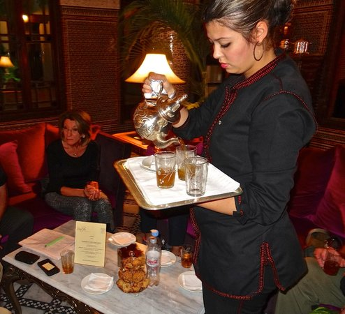 Riad Fes - Relais & Chateaux : Welcome tea