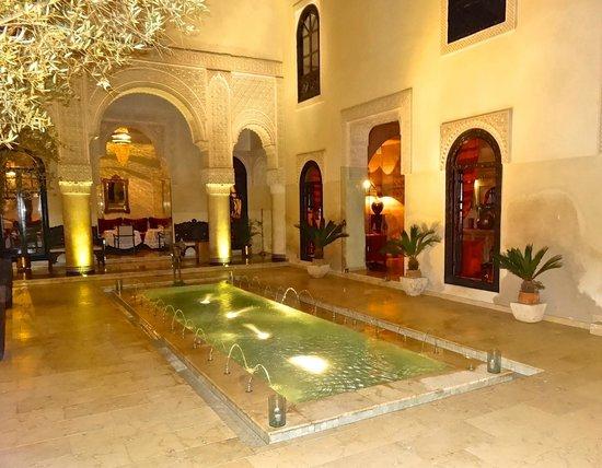 Riad Fes - Relais & Chateaux : Sitting area