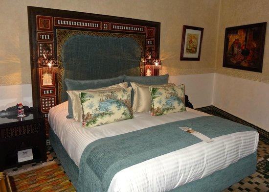 Riad Fes - Relais & Chateaux : Bed