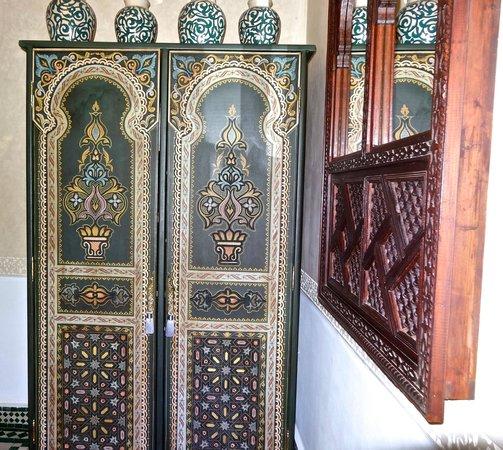 Riad Fes - Relais & Chateaux : Closet