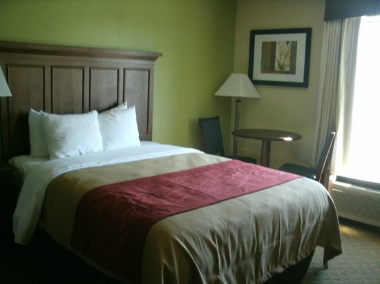 Beds picture of comfort inn grove city tripadvisor for Comfort inn mattress brand