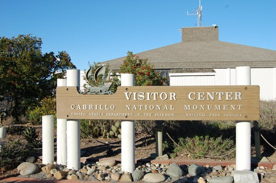 Cabrillo National Monument : Signage for the Park