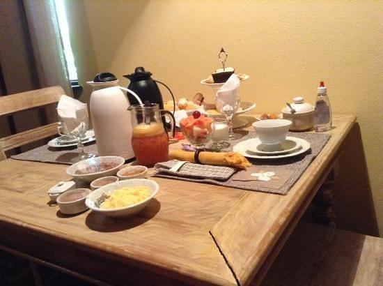 Estalagem Wiesbaden: café da manhã