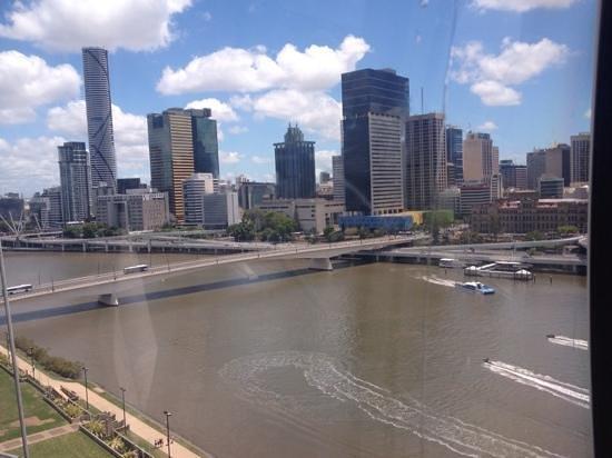 Wheel of Brisbane: Brisbane view