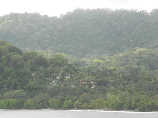 Villas by Tekoa: View from coast