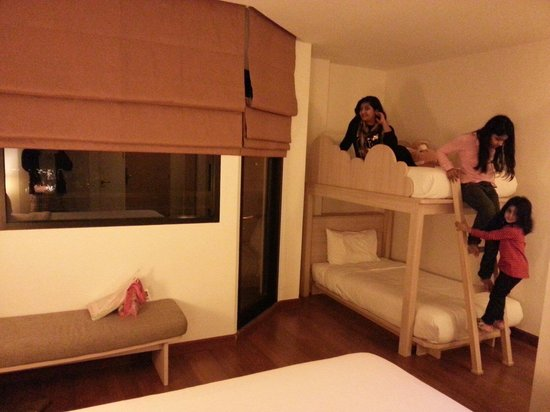 ibis Hua Hin: Ibis family room with bunk bed . ikram baig