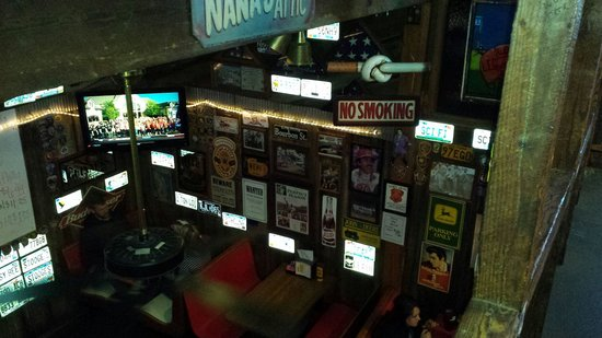 Cooter Brown's Rib Shack: View from upstairs