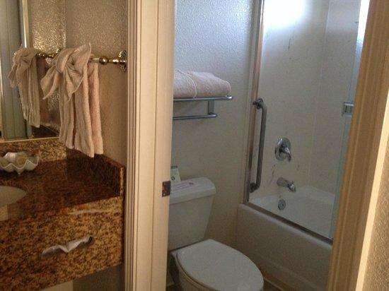 Emerald Dolphin Inn: Bathroom