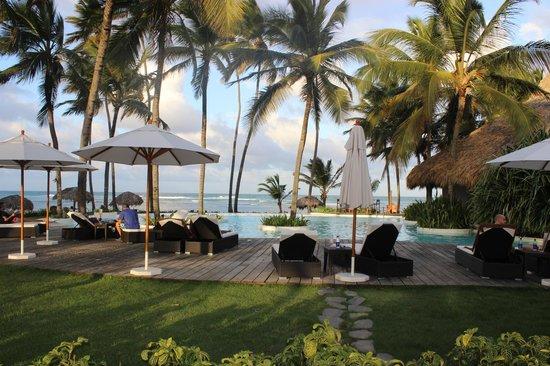 "Zoetry Agua Punta Cana: 9 Pool and restaurant ""Indigo"""