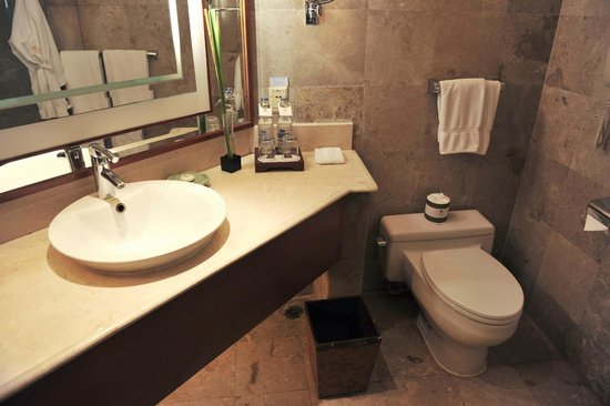 The Laguna, a Luxury Collection Resort & Spa: Bathroom - not bad, quite decently appointed
