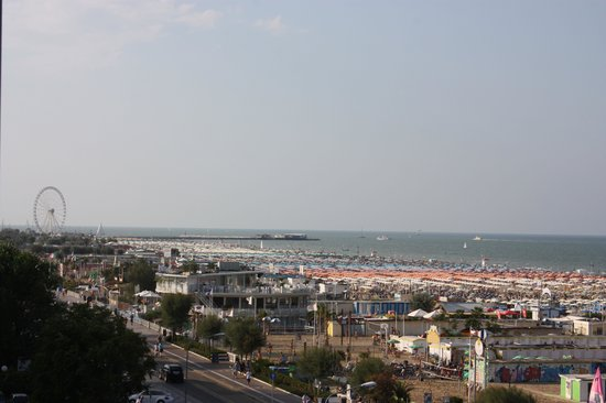 Savoia Hotel Rimini: View from our room