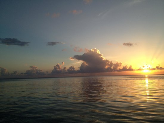 Belmond Cap Juluca: sunset in Anguilla