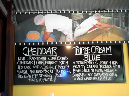 Witches Chase Cheese : Signage of the cheese  1