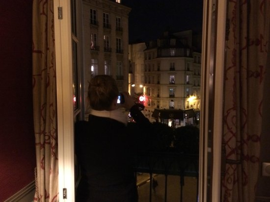 Hotel Relais Saint-Germain: evening