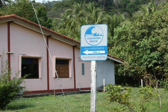 Lanta Old Town: Tsunami warning