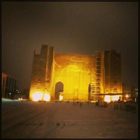 Ark Mosque (Ark-e-alishah): 2013.12.25date