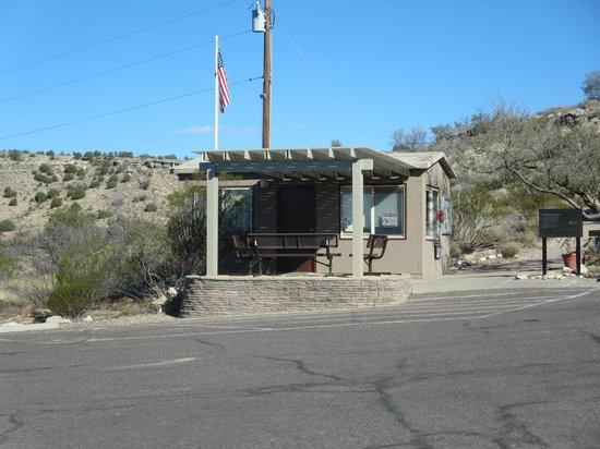Montezuma Well National Monument: the ranger station