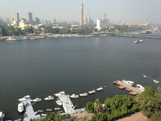 Kempinski Nile Hotel Cairo : From my room