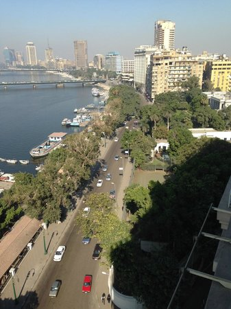 Kempinski Nile Hotel Cairo: From my room