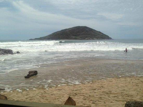 La Costa Marinera: vista de la playa desde el restaurant