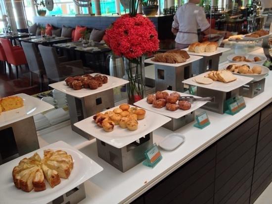 Amari Phuket: Breakfast breads and pastries