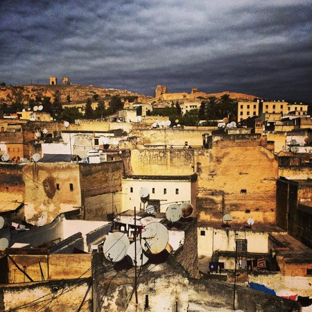 Dar Attajalli: View from the rooftop terrace