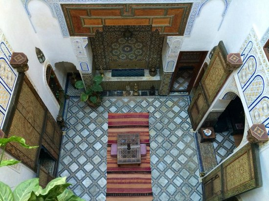 Dar Attajalli : View of the courtyard from my room
