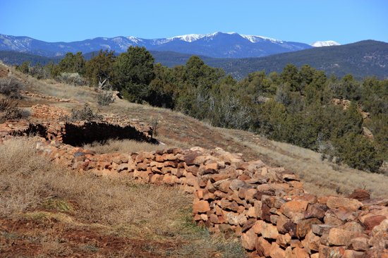 Pecos National Historical Park : Valley Scenery