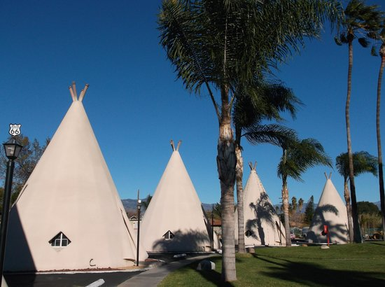 Wigwam Motel: Wigwam December 2013